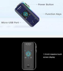Mod tigara electronica Vaporesso Nano Luxe S - disponibil pe voore.ro