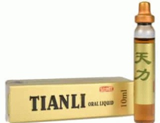 Sticluta Tianli pentru potenta, produs natural, 6 fiole - disponibil pe planteco.ro